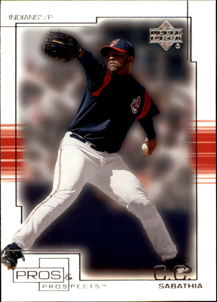 2001 Upper Deck Pros and Prospects #15 C.C. Sabathia