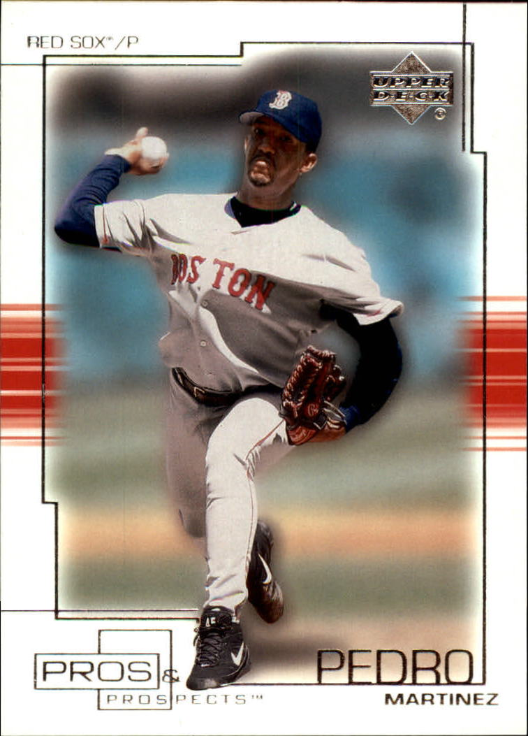 2001 Upper Deck Pros and Prospects #25 Pedro Martinez