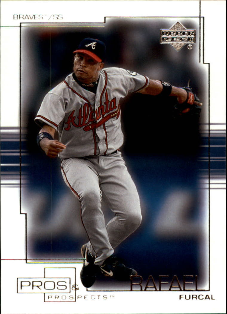 2001 Upper Deck Pros and Prospects #49 Rafael Furcal
