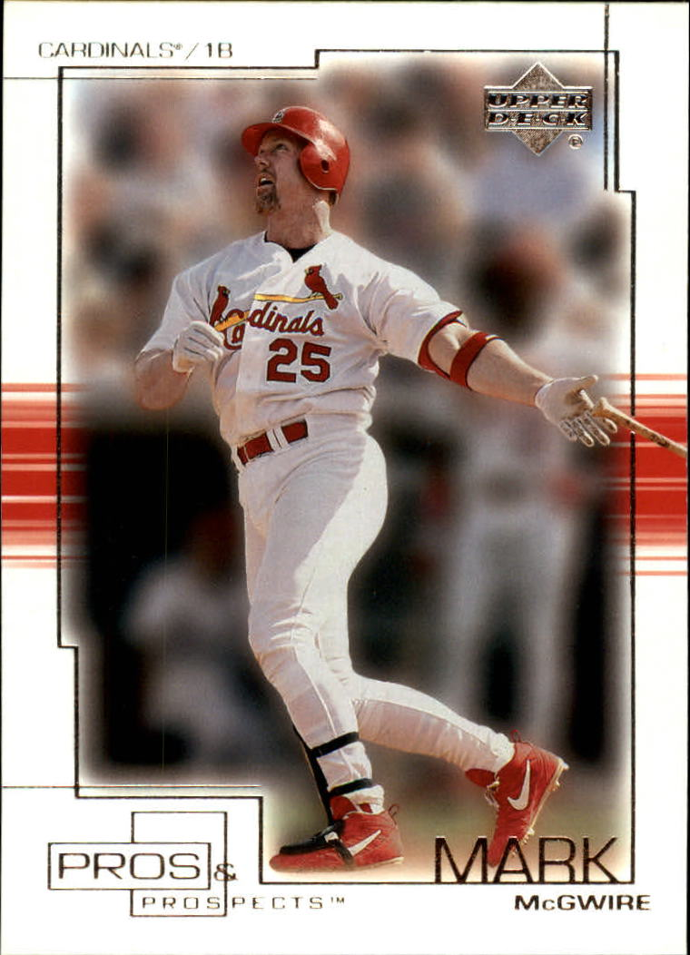 2001 Upper Deck Pros and Prospects #53 Mark McGwire front image