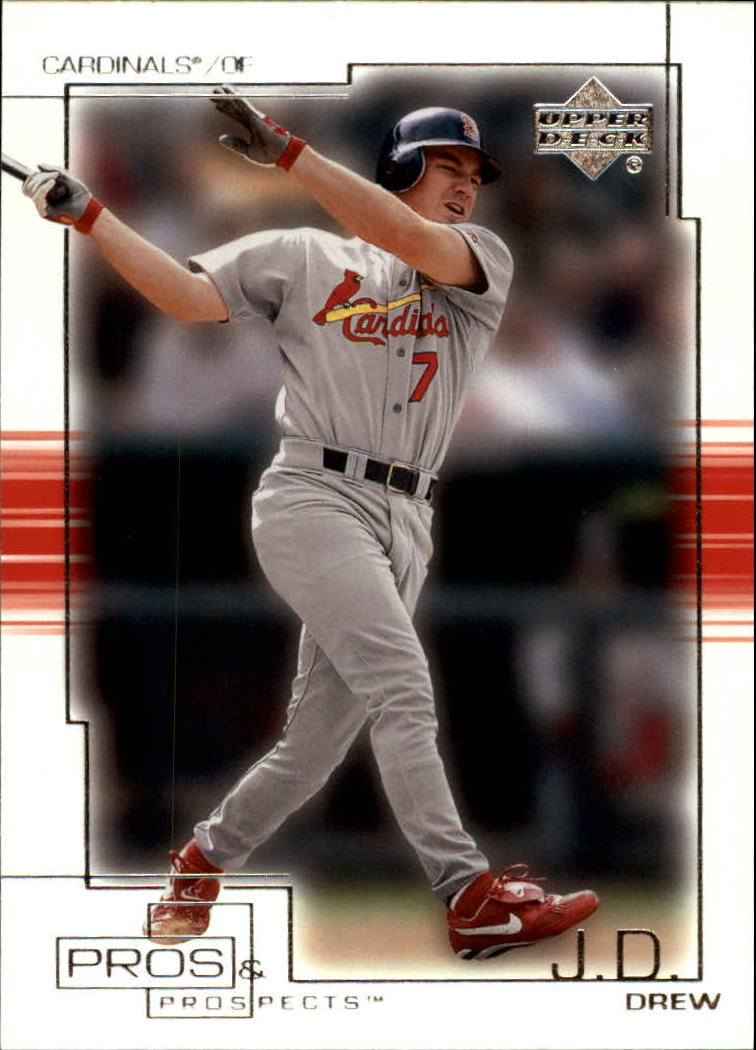 2001 Upper Deck Pros and Prospects #55 J.D. Drew