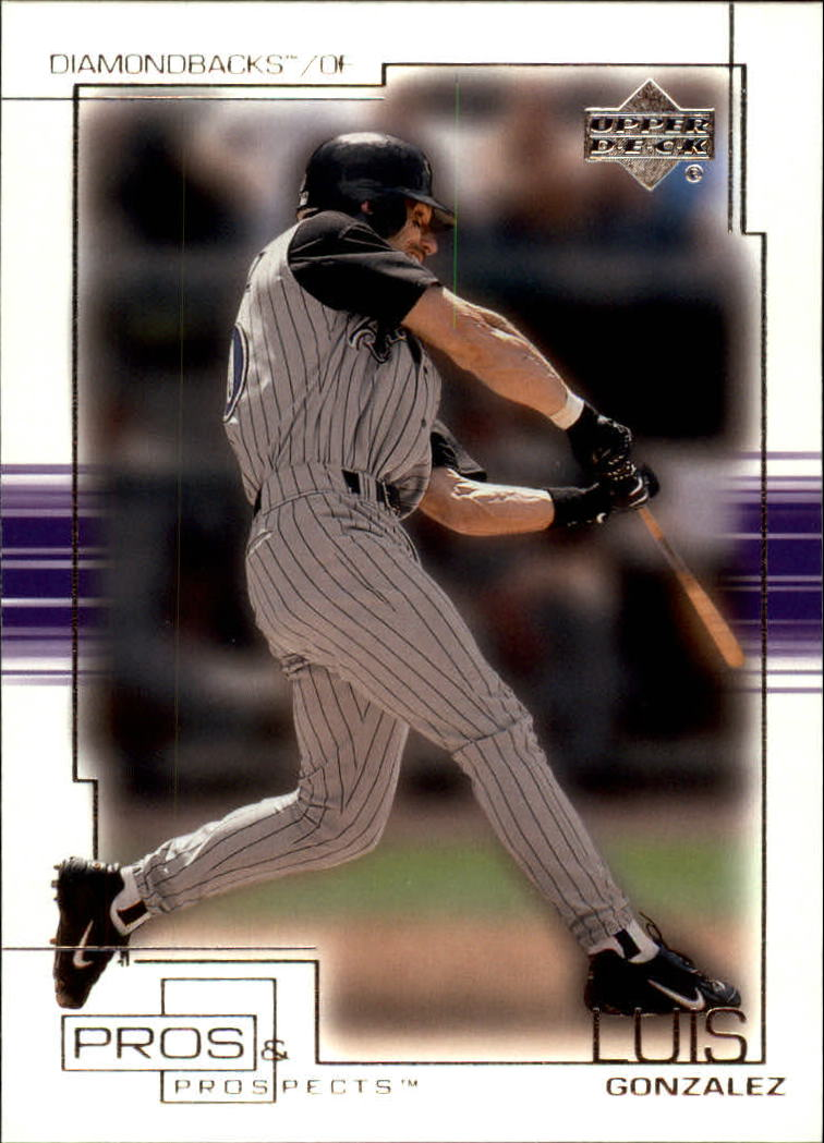 2001 Upper Deck Pros and Prospects #60 Luis Gonzalez