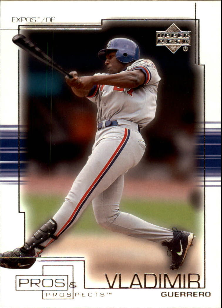 2001 Upper Deck Pros and Prospects #65 Vladimir Guerrero