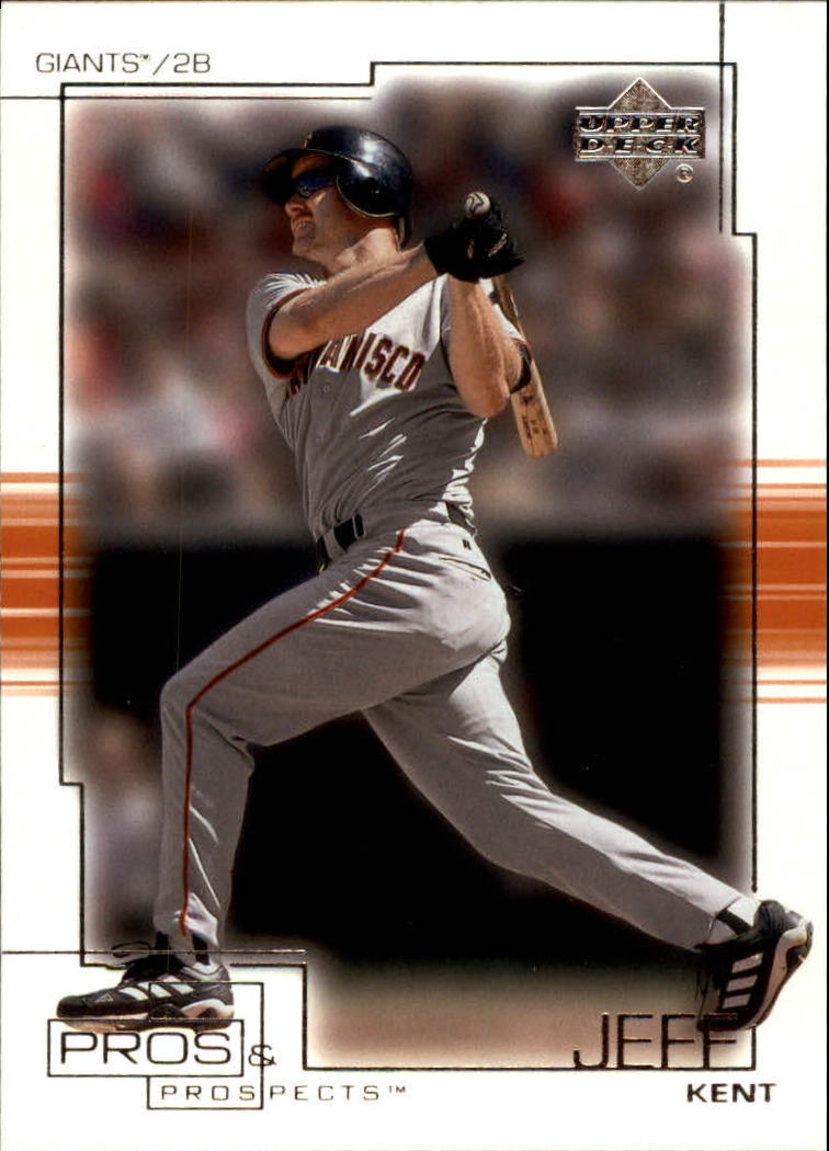 2001 Upper Deck Pros and Prospects #68 Jeff Kent