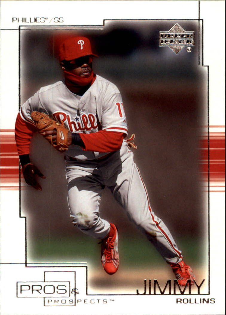 2001 Upper Deck Pros and Prospects #81 Jimmy Rollins