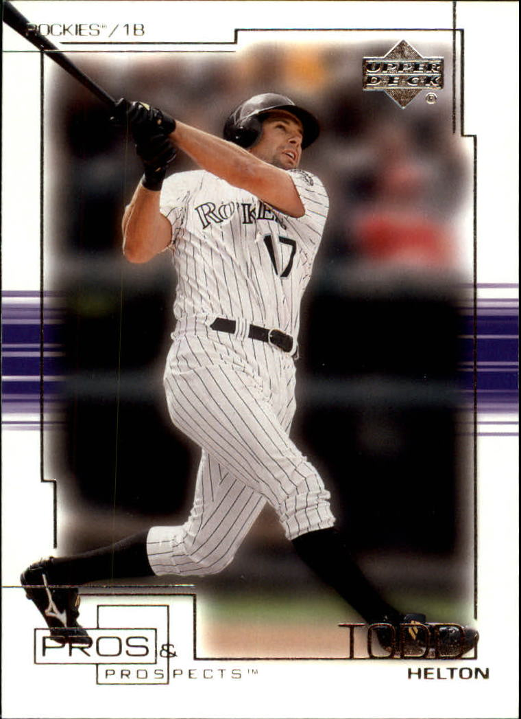 2001 Upper Deck Pros and Prospects #89 Todd Helton