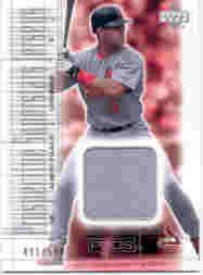2001 Upper Deck Pros and Prospects #137 Albert Pujols JSY RC