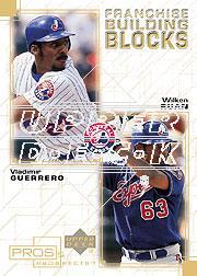 2001 Upper Deck Pros and Prospects Franchise Building Blocks #F22 V.Guerrero/W.Ruan