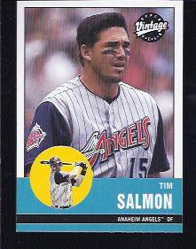 2001 Upper Deck Vintage #6 Tim Salmon