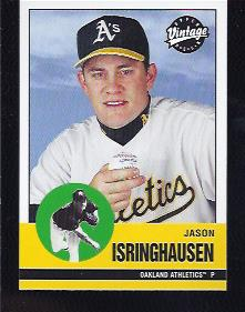 2001 Upper Deck Vintage #20 Jason Isringhausen