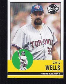 2001 Upper Deck Vintage #24 David Wells