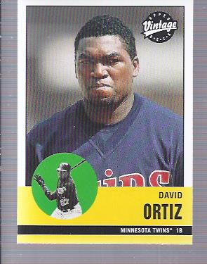2001 Upper Deck Vintage #128 David Ortiz