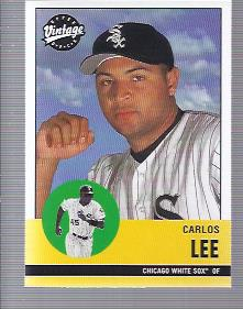 2001 Upper Deck Vintage #136 Carlos Lee