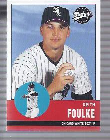 2001 Upper Deck Vintage #145 Keith Foulke
