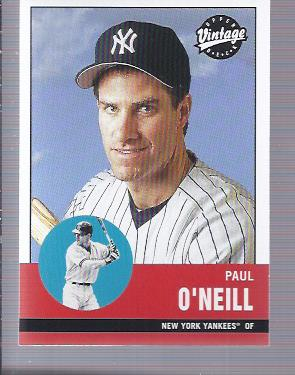 2001 Upper Deck Vintage #157 Paul O'Neill