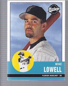 2001 Upper Deck Vintage #266 Mike Lowell