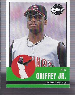 2001 Upper Deck Vintage #319 Ken Griffey Jr.