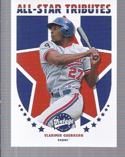 2001 Upper Deck Vintage All-Star Tributes #AS5 Vladimir Guerrero