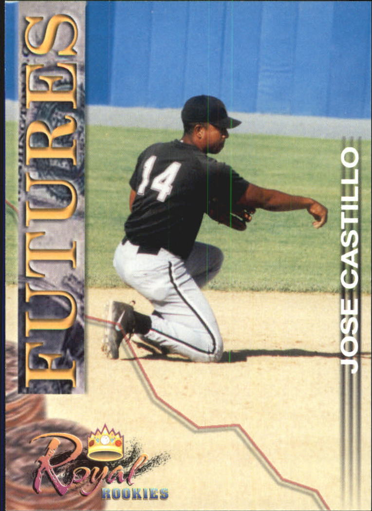 2001 Royal Rookies Futures #17 Jose Castillo