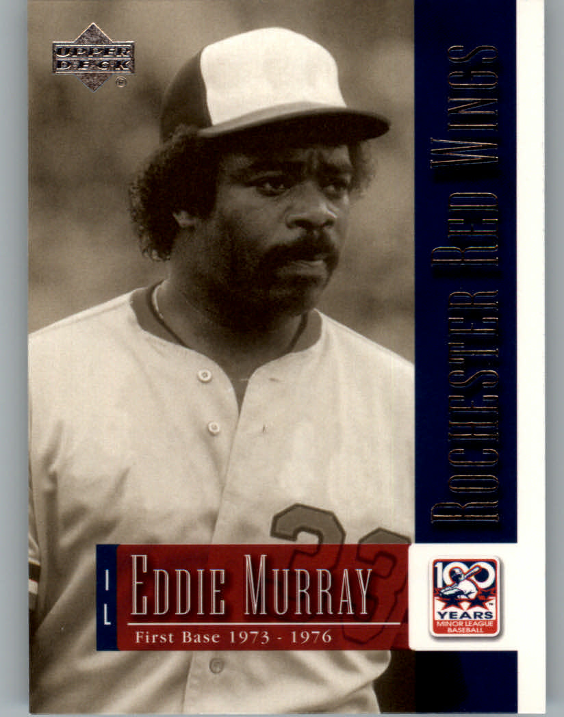 2001 Upper Deck Minors Centennial #28 Eddie Murray