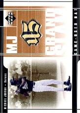 2001 Upper Deck Prospect Premieres MJ Grandslam Game Bat #MJ1 Michael Jordan