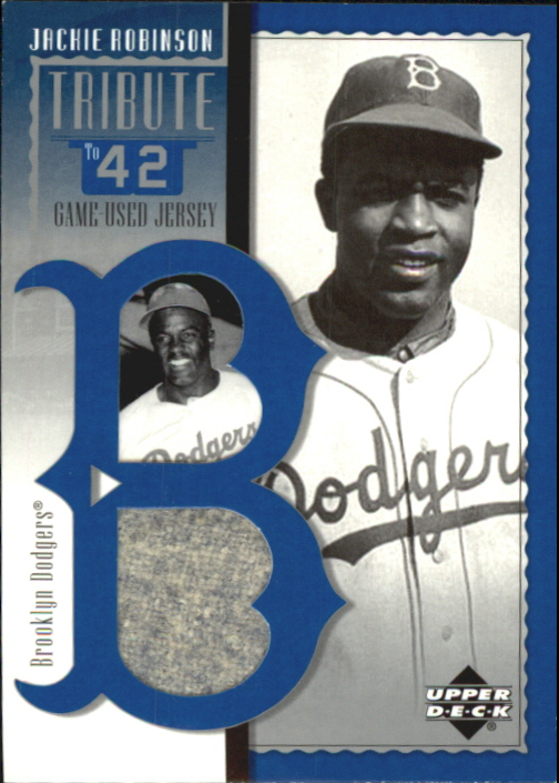 2001 Upper Deck Prospect Premieres Tribute to 42 #C J.Robinson Cut AU