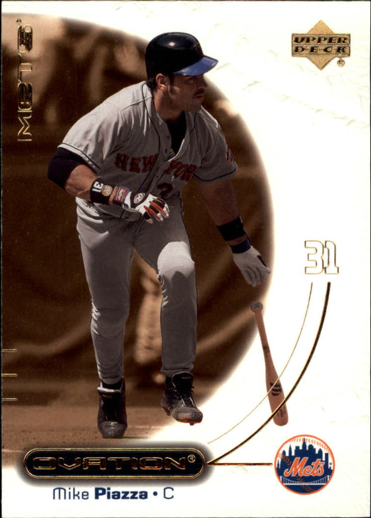 2001 Upper Deck Ovation #49 Mike Piazza