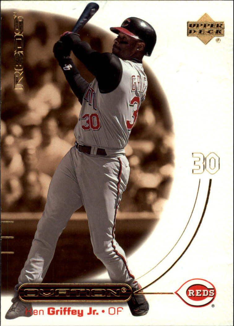 2001 Upper Deck Ovation #57 Ken Griffey Jr.