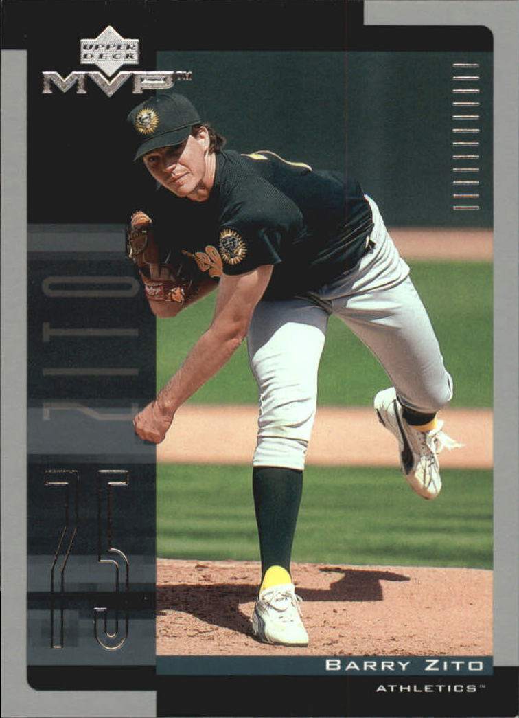 2001 Upper Deck MVP #14 Barry Zito