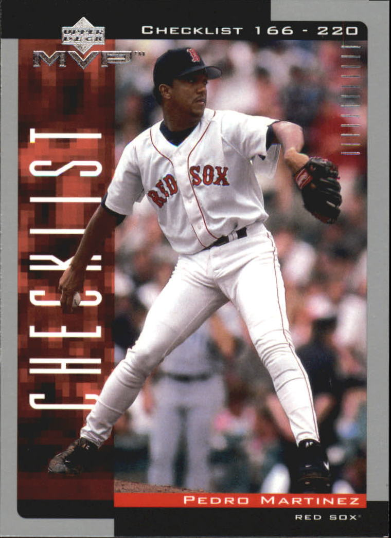 2001 Upper Deck MVP #328 Pedro Martinez CL