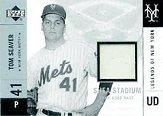 2001 Upper Deck Legends of NY Game Base Silver #SSTS Tom Seaver