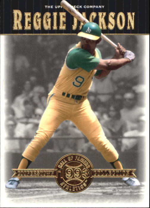 2001 Upper Deck Hall of Famers #1 Reggie Jackson