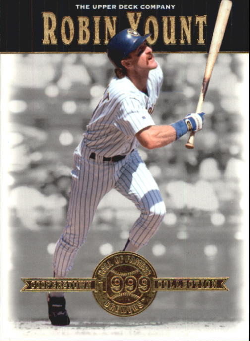 2001 Upper Deck Hall of Famers #5 Robin Yount