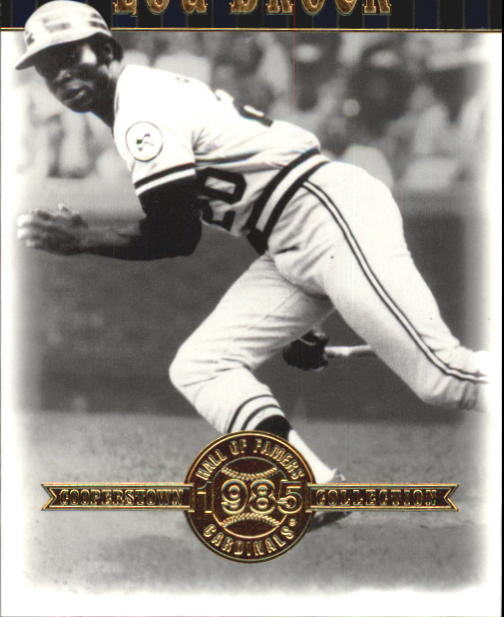 2001 Upper Deck Hall of Famers #6 Lou Brock front image