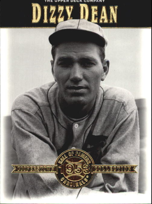 2001 Upper Deck Hall of Famers #7 Dizzy Dean