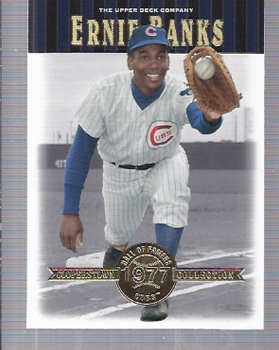 2001 Upper Deck Hall of Famers #12 Ernie Banks
