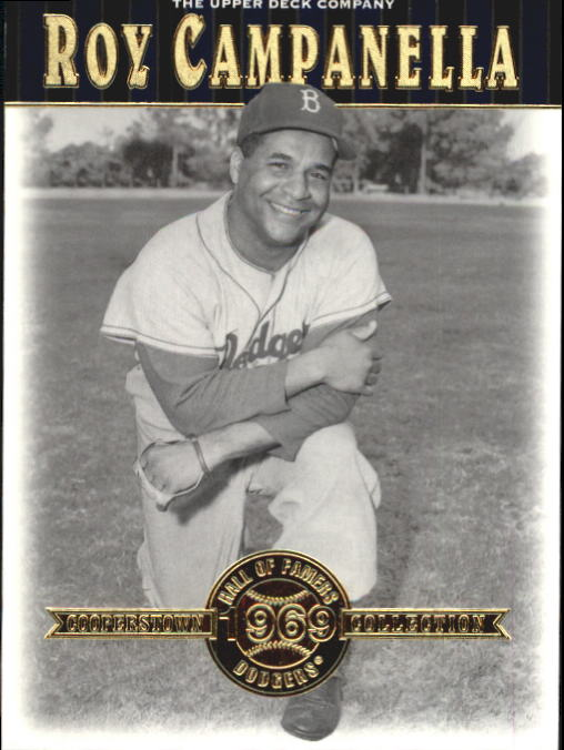 2001 Upper Deck Hall of Famers #14 Roy Campanella