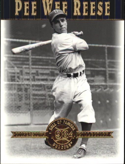 2001 Upper Deck Hall of Famers #15 Pee Wee Reese front image