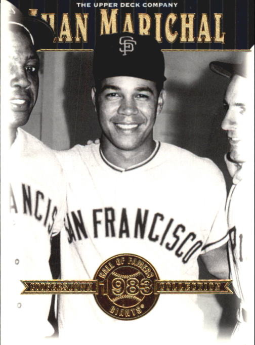 2001 Upper Deck Hall of Famers #17 Juan Marichal