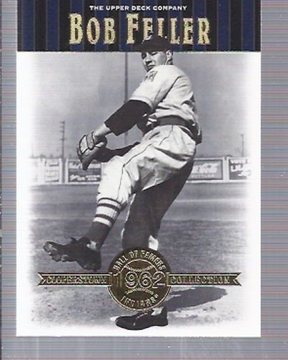 2001 Upper Deck Hall of Famers #22 Bob Feller