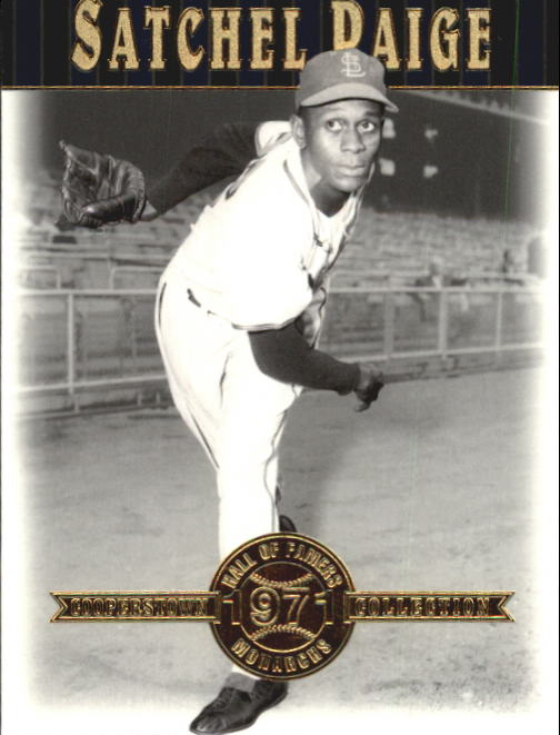 2001 Upper Deck Hall of Famers #24 Satchel Paige