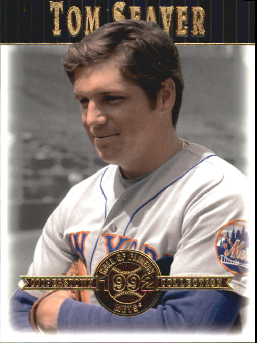 2001 Upper Deck Hall of Famers #25 Tom Seaver