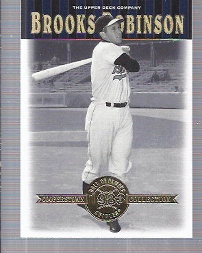 2001 Upper Deck Hall of Famers #26 Brooks Robinson front image