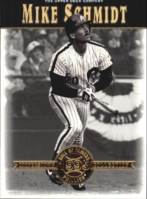 2001 Upper Deck Hall of Famers #27 Mike Schmidt