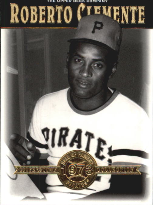 2001 Upper Deck Hall of Famers #28 Roberto Clemente