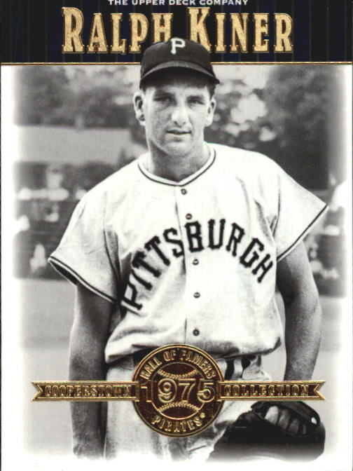 2001 Upper Deck Hall of Famers #29 Ralph Kiner