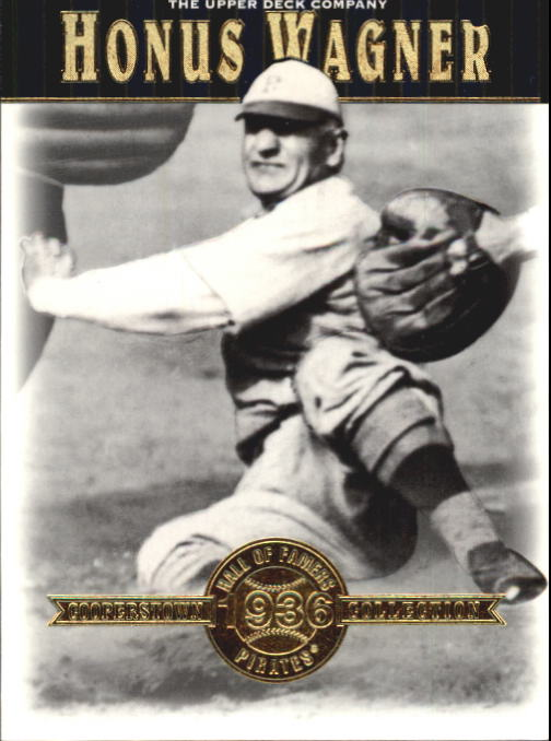 2001 Upper Deck Hall of Famers #31 Honus Wagner
