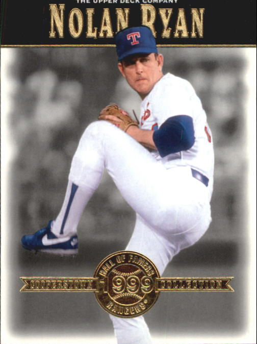 2001 Upper Deck Hall of Famers #33 Nolan Ryan