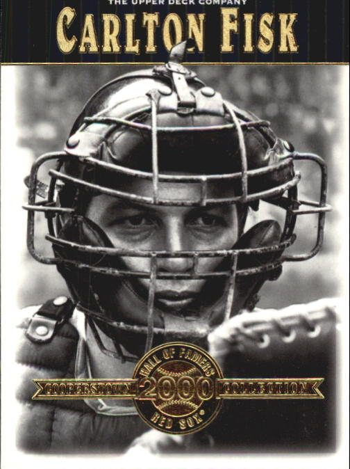 2001 Upper Deck Hall of Famers #34 Carlton Fisk