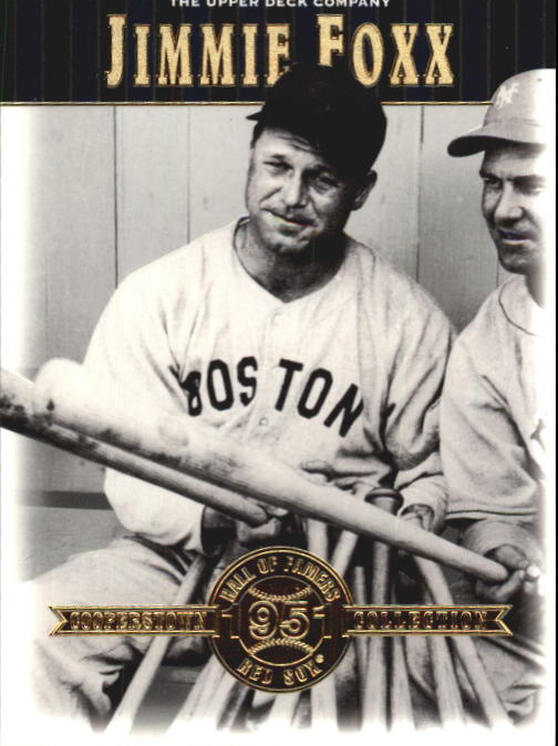 2001 Upper Deck Hall of Famers #35 Jimmie Foxx